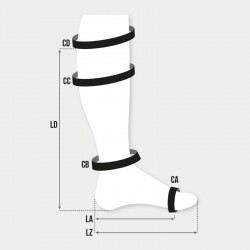 Made to Measure Below Knee Compression Sock