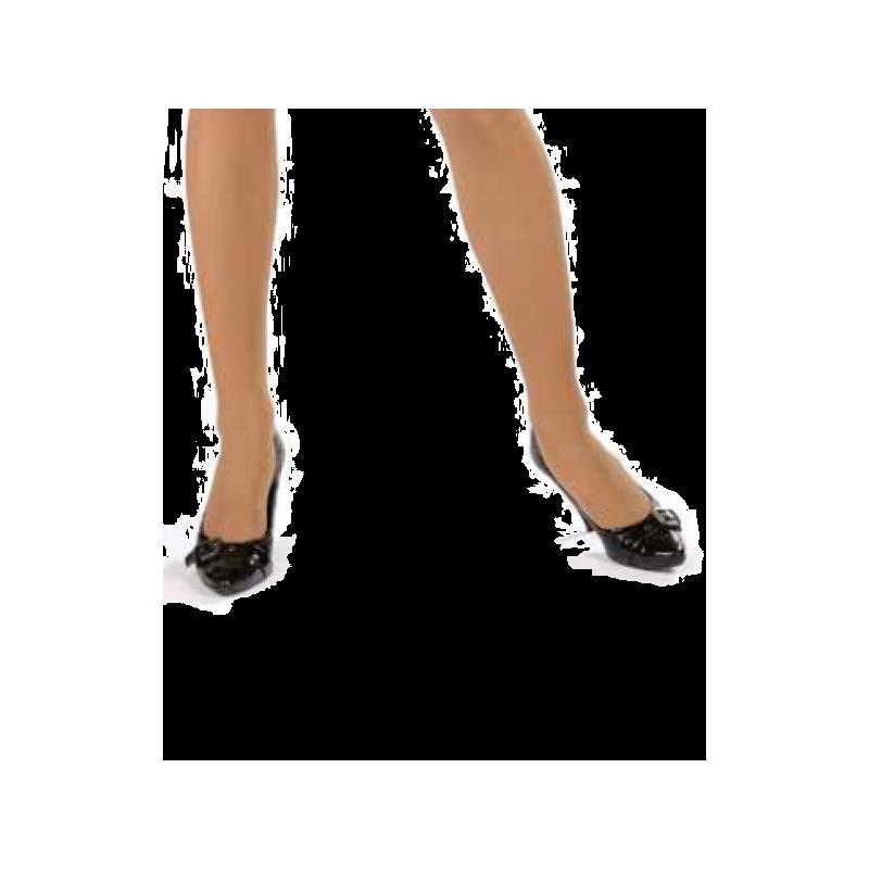 VR Clara 140 OPEN TOE Knee Highs